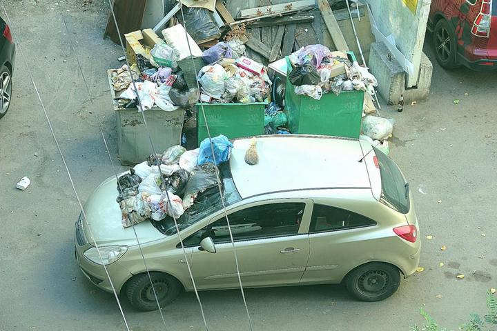Подборка наказаний за хамскую парковку (13)