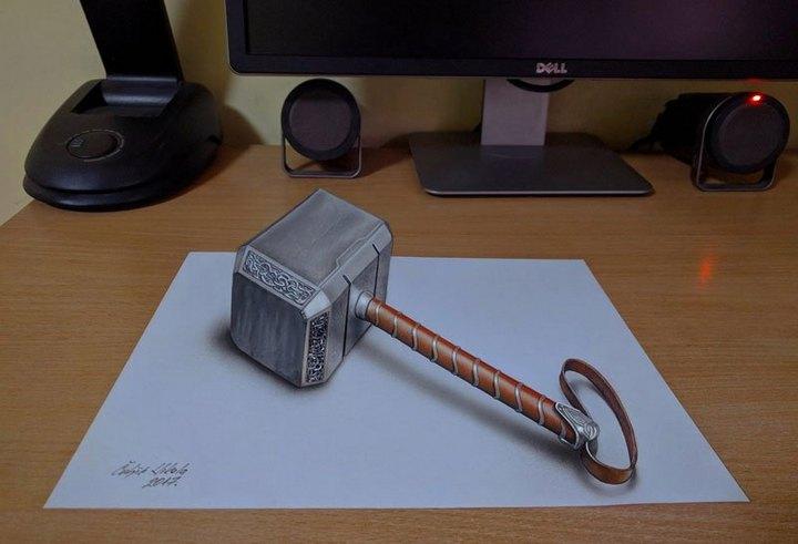 Потрясающие 3D-рисунки которые взорвут вам мозг (5)