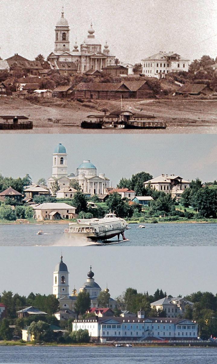 Как изменился город за 100 лет в трёх фотографиях