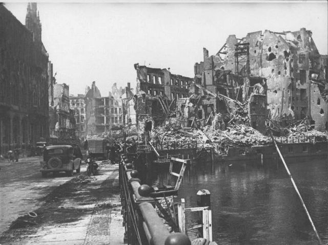 Уникальные снимки Второй Мировой Войны (16)