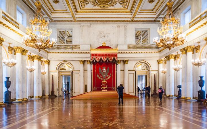 Достопримечательности Санкт-Петербурга. Зимний дворец (3)