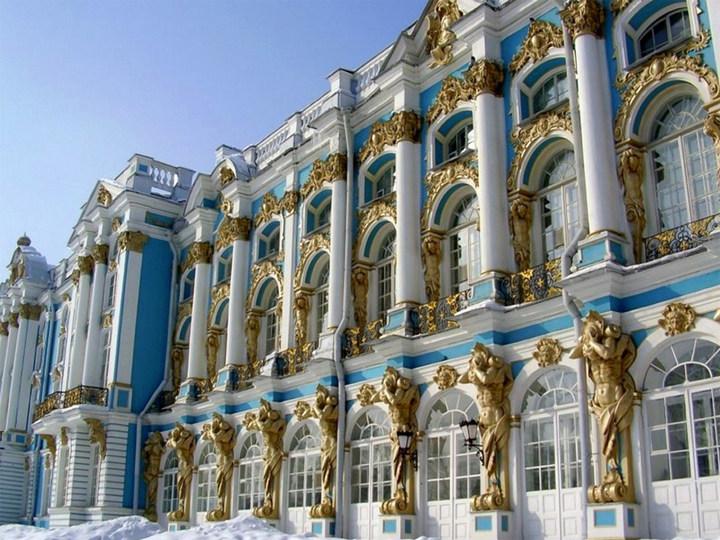 Достопримечательности Санкт-Петербурга. Зимний дворец (4)