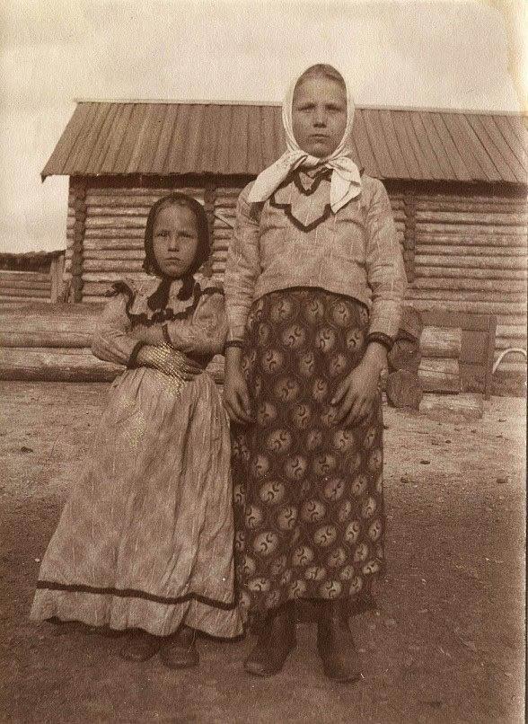 Старинные фотографии русских людей