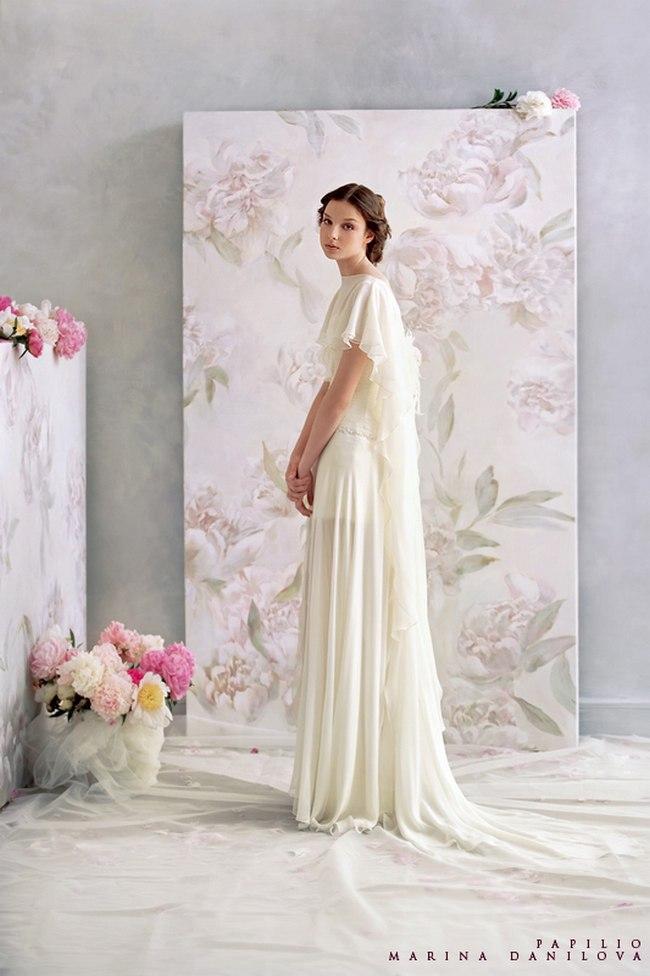 Красивые свадебные платья фото 2012, различные стили свадебных платьев короткие, пышные, необычные (14)