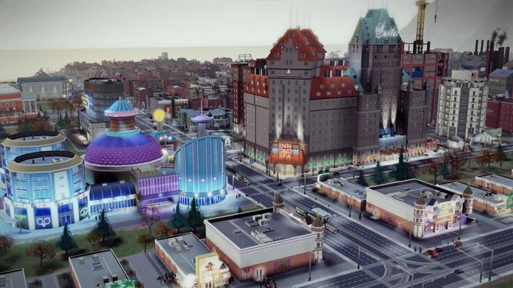 Империя казино в SimCity