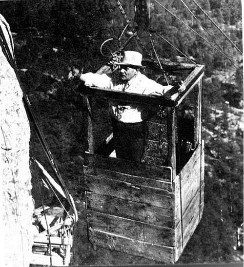 Как строили национальный мемориал гора Рашмор (15)