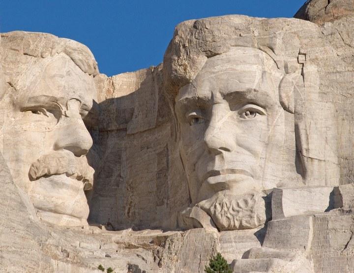 Как строили национальный мемориал гора Рашмор (19)