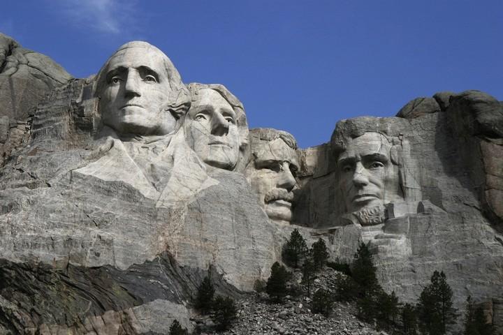 Как строили национальный мемориал гора Рашмор (26)