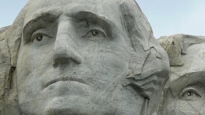 Как строили национальный мемориал гора Рашмор (29)