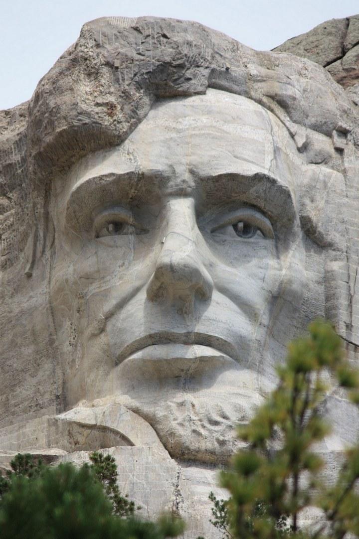 Как строили национальный мемориал гора Рашмор (33)