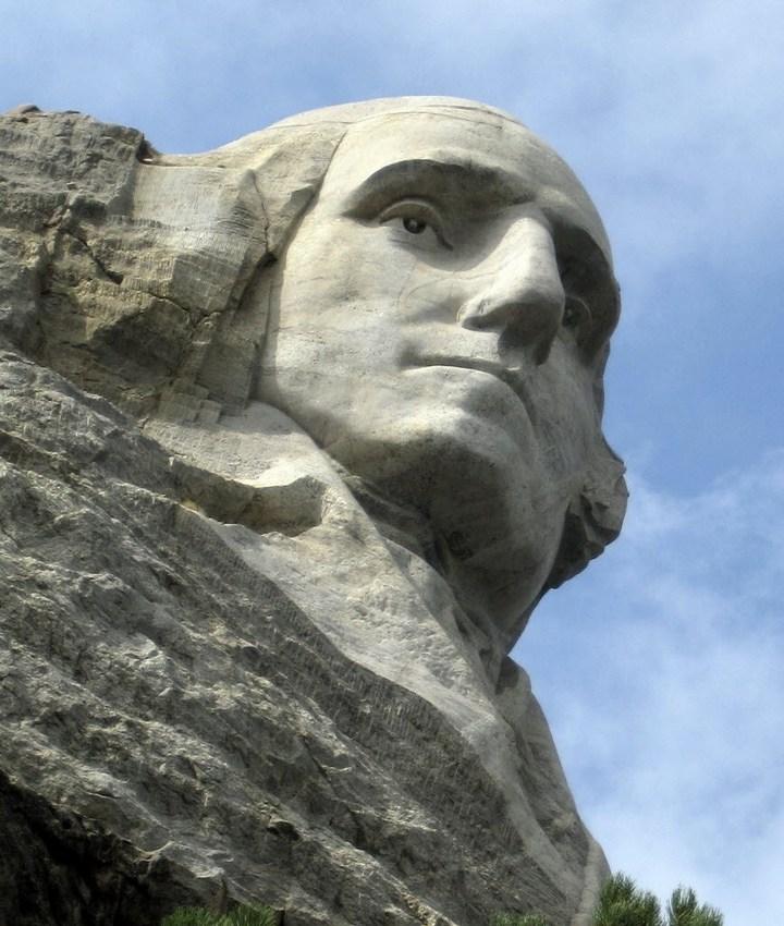 Как строили национальный мемориал гора Рашмор (34)