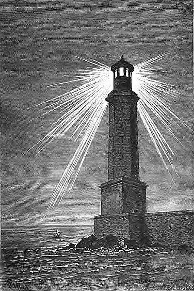 Чудеса света, Phare d'Alexandrie (Barclay) Александрийский маяк
