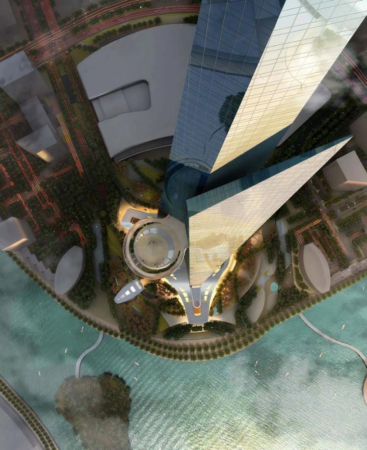 Строительство самого высокого небоскреба в мире в Саудовской Аравии (8)