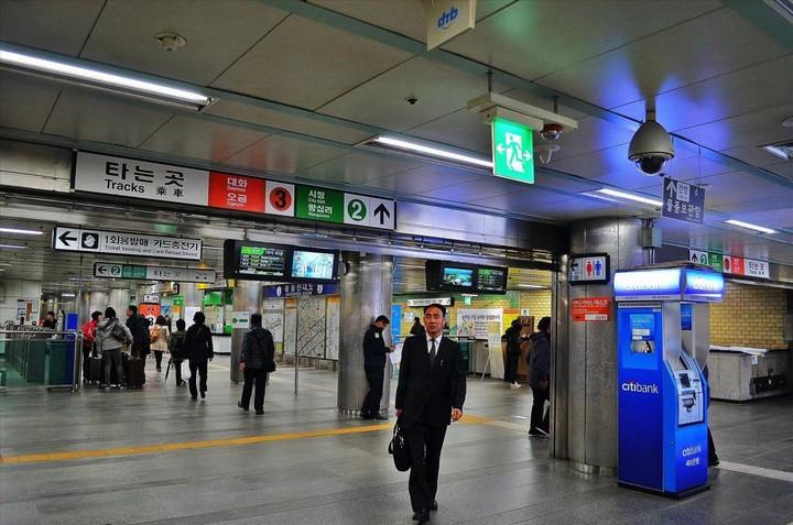Как выглядит метро в Южной Корее (3)