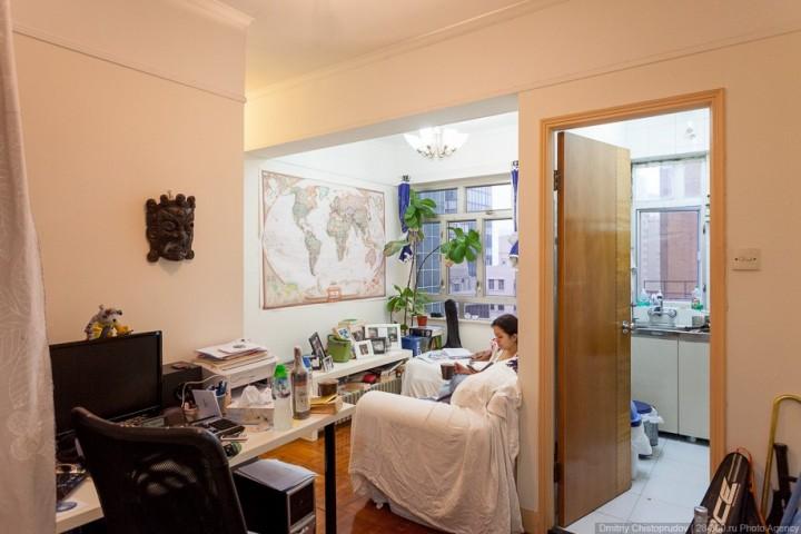 Коммуналки в Гонконге, как живут в Гонконге, маленькие квартиры (6)