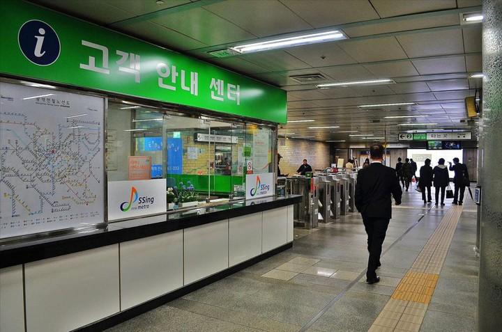 Как выглядит метро в Южной Корее (6)