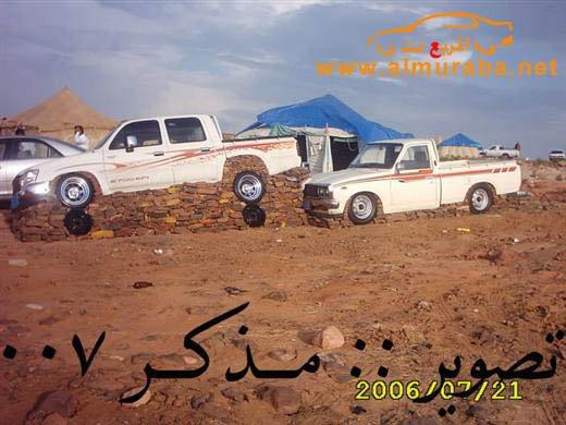 Машины на камнях. Необычное развлечение арабов (7)