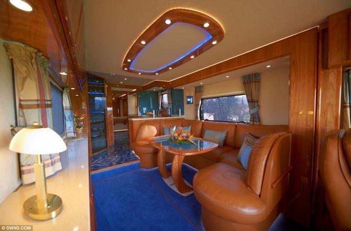 Volkner Mobil Performance — самый дорогой и роскошный дом на колесах, красивый автобус (5)