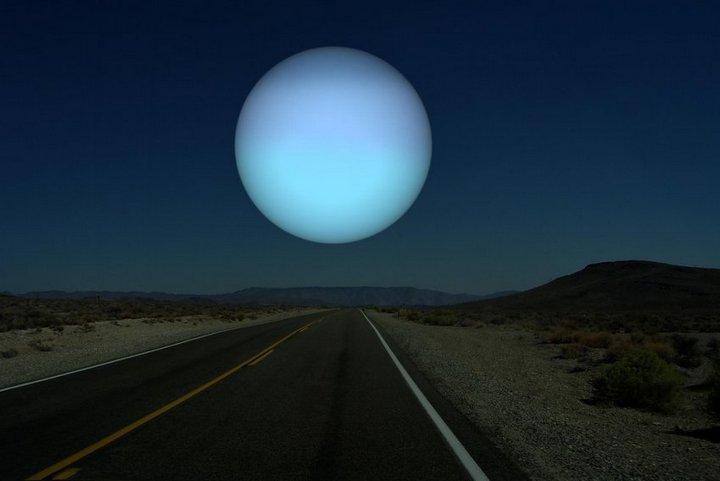 Как бы выглядели дрегие планеты оказавшись на месте Луны (7)