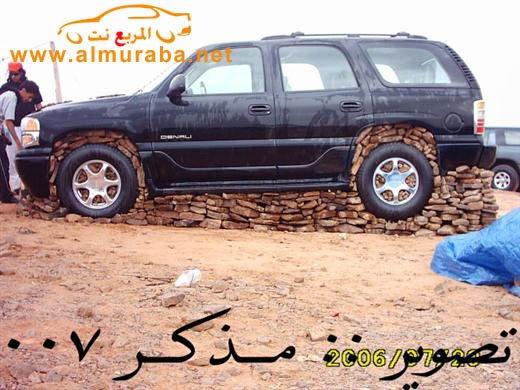 Машины на камнях. Необычное развлечение арабов (8)