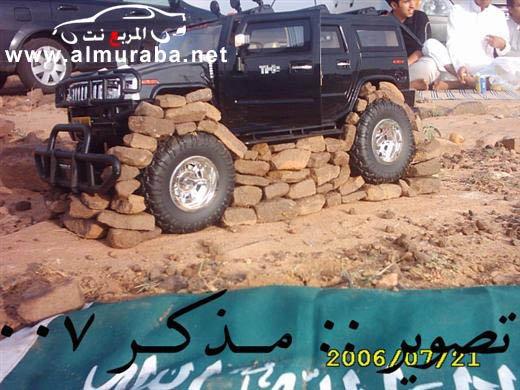 Машины на камнях. Необычное развлечение арабов (14)