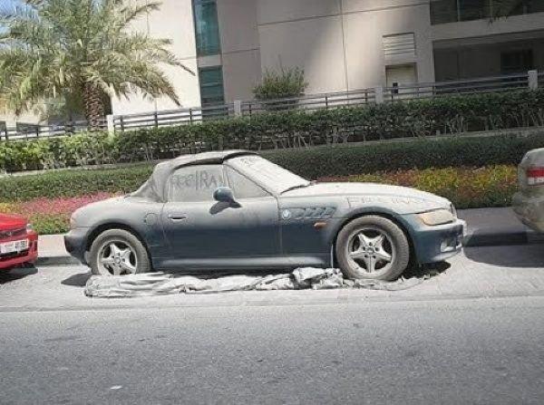 Брошенные дорогие автомобили в Дубае, редкие автомобили (11)