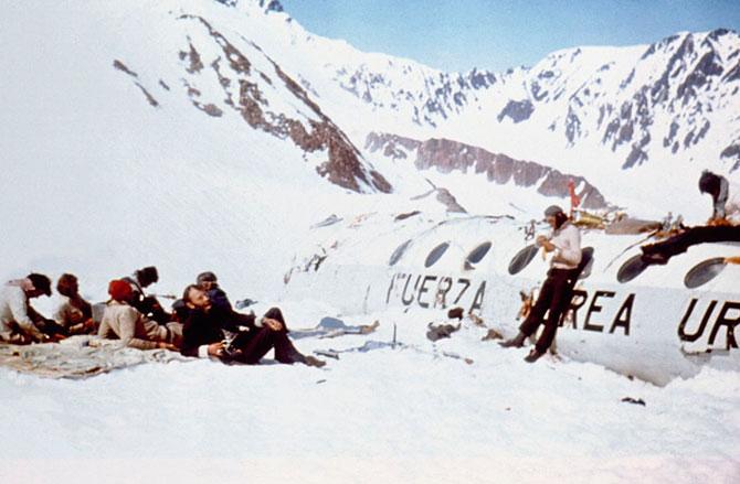Крушение в Андах. Удивительный случай, авиакатастрофа (1)