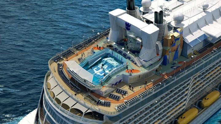 Роскошный круизный корабль Quantum of The Seas, новый круизный лайнер (3)