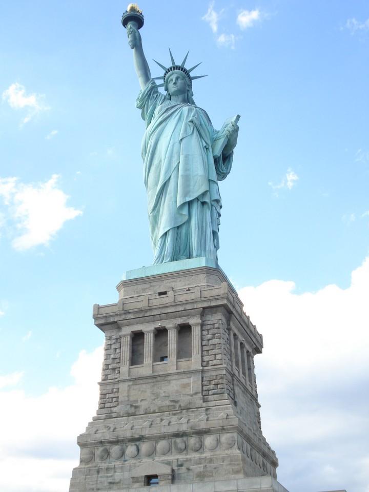 Как строили статую Свободы в Нью-Йорке, старые фото (11)