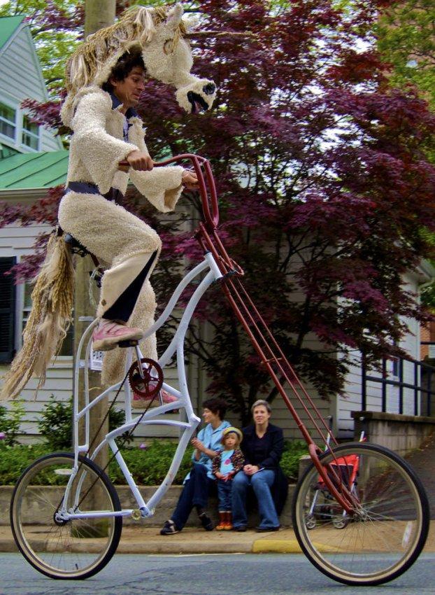 Самые необычные велосипеды, переделка велосипедов (27)