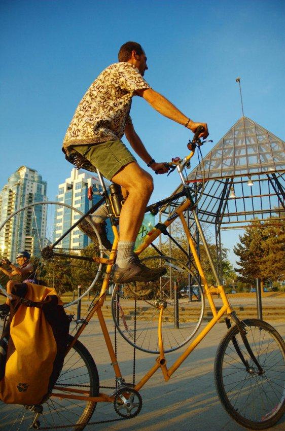 Самые необычные велосипеды, переделка велосипедов (28)