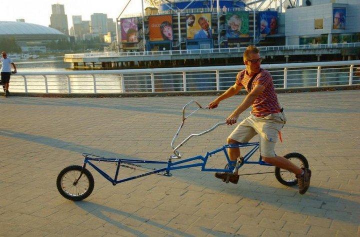 Самые необычные велосипеды, переделка велосипедов (26)