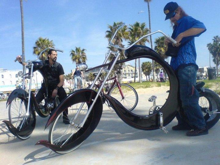 Самые необычные велосипеды, переделка велосипедов (25)