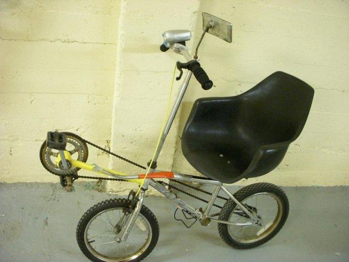 Самые необычные велосипеды, переделка велосипедов (21)