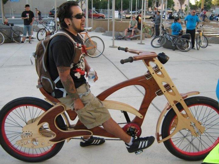 Самые необычные велосипеды, переделка велосипедов (20)