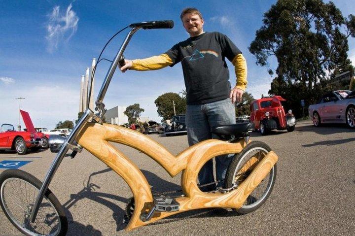 Самые необычные велосипеды, переделка велосипедов (18)