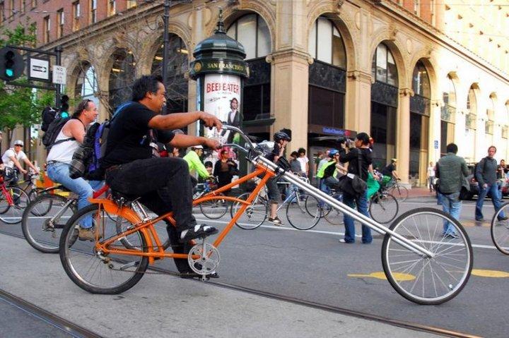 Самые необычные велосипеды, переделка велосипедов (6)