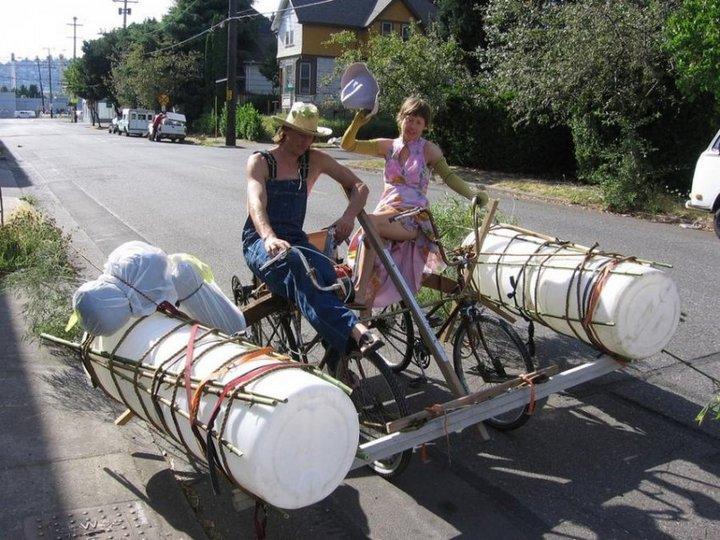 Самые необычные велосипеды, переделка велосипедов (5)