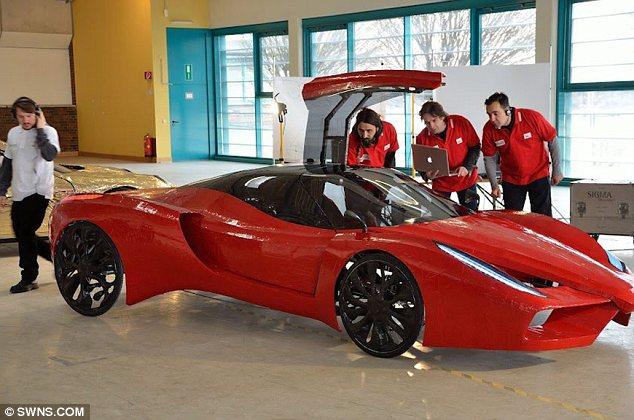 Самый дорогой велосипед в стиле Ferrari, самодельный Феррари (3)