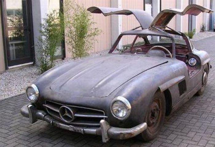 Брошенные дорогие автомобили в Дубае, редкие автомобили (34)