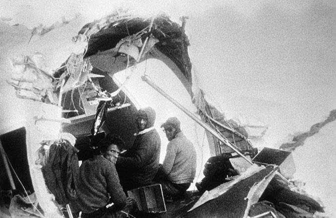 Крушение в Андах. Удивительный случай, авиакатастрофа (4)