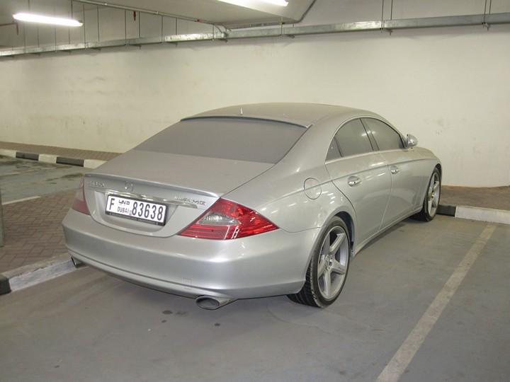 Брошенные дорогие автомобили в Дубае, редкие автомобили (4)