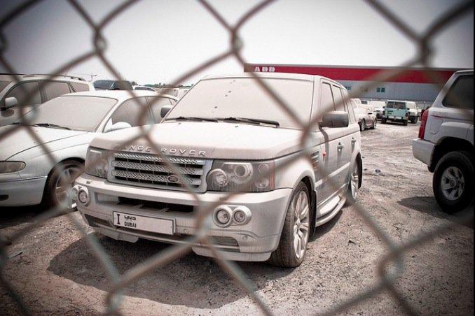 Брошенные дорогие автомобили в Дубае, редкие автомобили (5)