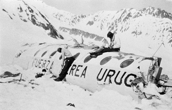 Крушение в Андах. Удивительный случай, авиакатастрофа (6)