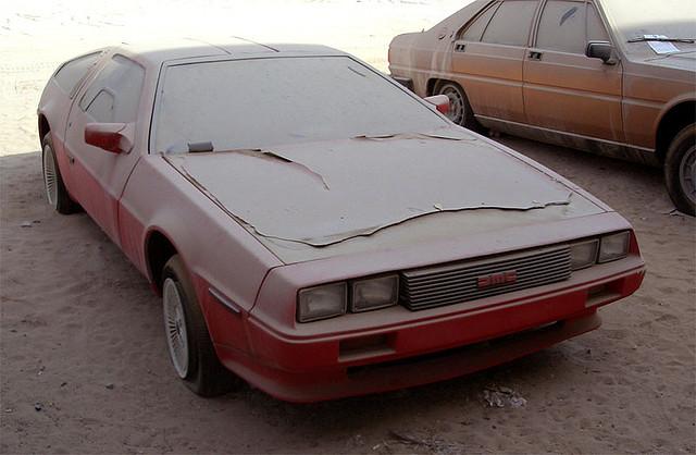 Брошенные дорогие автомобили в Дубае, редкие автомобили (7)