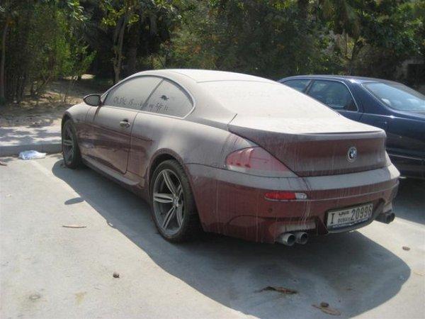 Брошенные дорогие автомобили в Дубае, редкие автомобили (8)