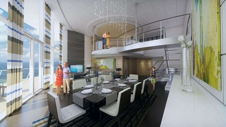 Роскошный круизный корабль Quantum of The Seas, новый круизный лайнер (8)