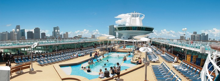 Роскошный круизный корабль Quantum of The Seas, новый круизный лайнер (5)