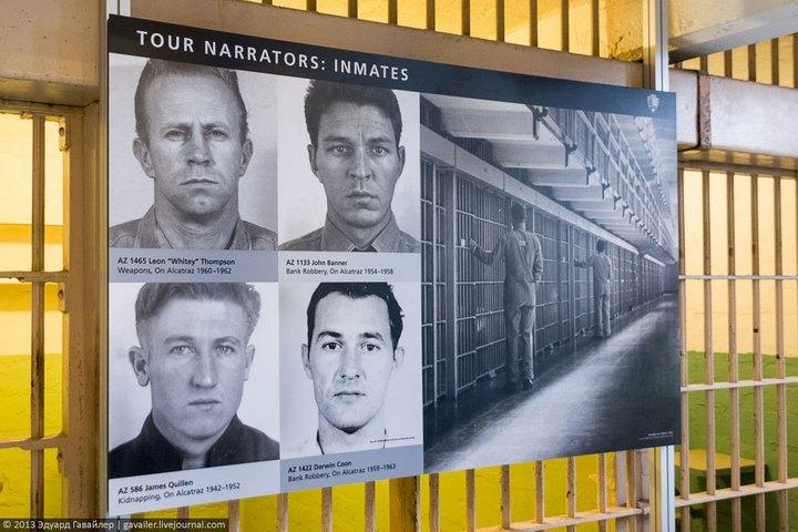 Алькатрас — легендарная тюрьма Америки (14)