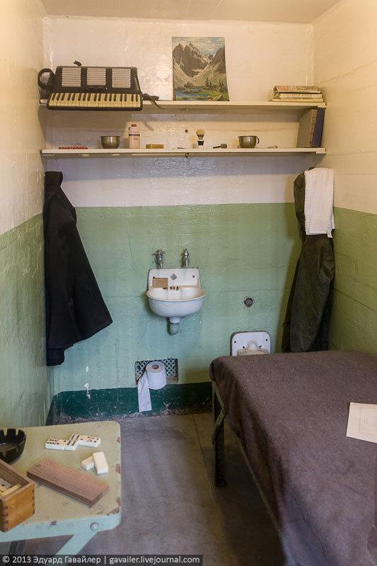 Алькатрас — легендарная тюрьма Америки (25)